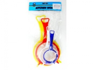Strainers colorful 4 pcs  MJ1331