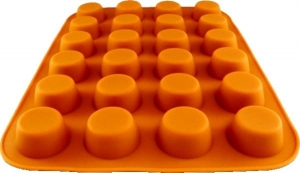 Silicone muffin mold 24 pcs small  MB-9024