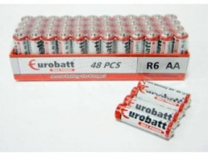 Batteries AA R6 Max Power shrink EUROBATT  SR6-SP4