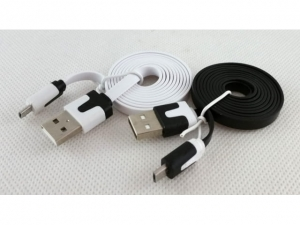 Flat cable Micro USB / USB  MJ3974