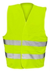 Reflective Vest green big sizes  MJ1661G
